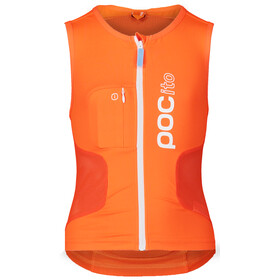 POC POCito VPD Air Protector Vest Kinderen, fluorescent orange